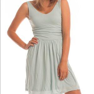 SYNERGY ORGANIC Moxie Dress in Dusk Blue NWT